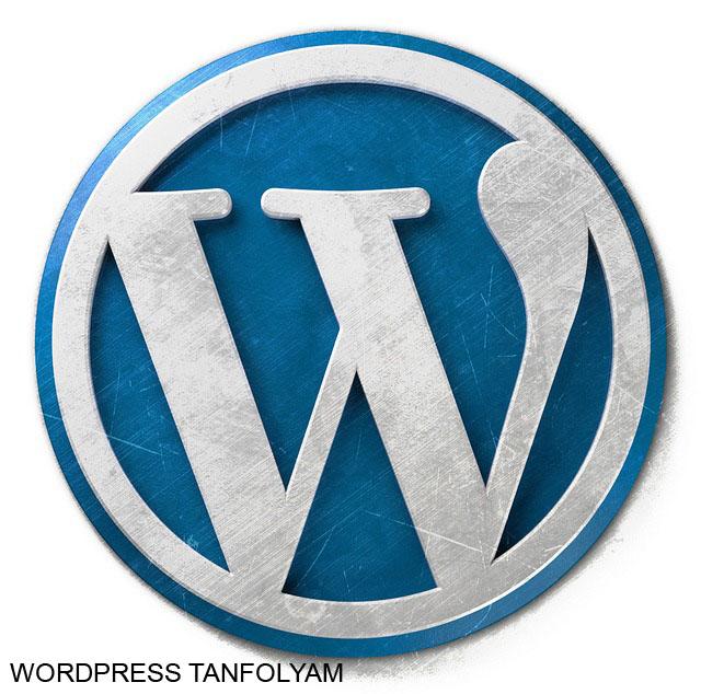 Wordpress tanfolyam honlapkészítés